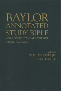 [해외]Baylor Annotated Study Bible (Hardcover)