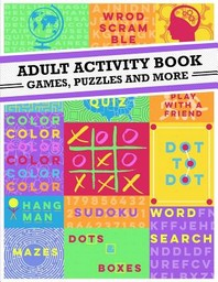 [해외]Adult Activity Book
