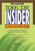 링구아포럼 TOEFL CBT INSIDER LISTENING (T:4포함)