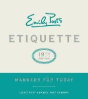 [해외]Emily Post's Etiquette, 19th Edition