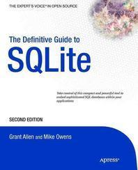 [해외]The Definitive Guide to SQLite (Paperback)