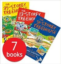 Treehouse 7-Book Set 나무집 시리즈 7종 세트 (영국판)