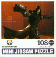 오버워치 직소퍼즐 108pcs: 리퍼
