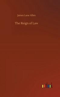[해외]The Reign of Law (Hardcover)