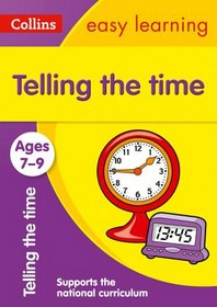 [해외]Collins Easy Learning Age 7-11 -- Telling Time Ages 7-9 (Paperback)