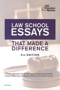 [해외]Law School Essays That Made a Difference