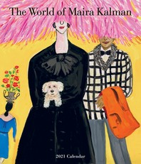 [해외]The World of Maira Kalman Wall Calendar 2021