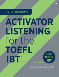 Activator Listening for the TOEFL iBT(Intermediate)(CD1장포함)