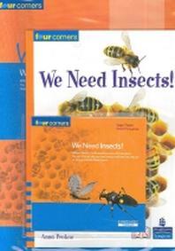 We Need Insects(CD1장, Workbook1권포함)(Four Corners 시리즈 Fluent)