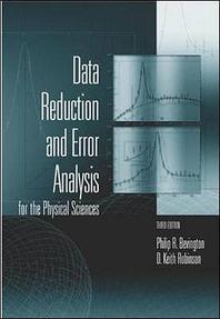 [해외]Data Reduction and Error Analysis for the Physical Sciences
