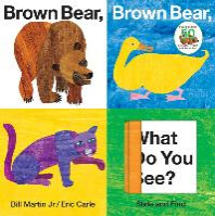 [해외]Brown Bear, Brown Bear, What Do You See? Slide and Find (Board Books)