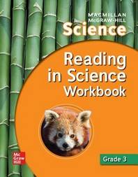 [해외]Macmillan/McGraw-Hill Science, Grade 3, Reading in Science Workbook