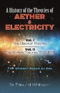 [해외]A History of the Theories of Aether and Electricity