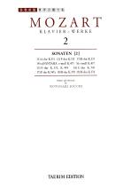 모차르트 2:소나타집 제2권(전9곡)(세계 음악 전집 태림판 14)