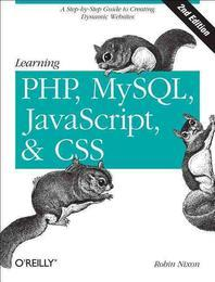 [해외]Learning PHP, MySQL, JavaScript, and CSS (Paperback)