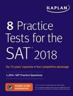 [해외]8 Practice Tests for the SAT 2018