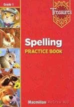 SPELLING PRACTICE BOOK(TREASURES 1)
