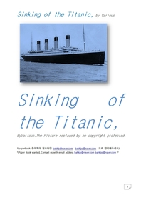 타이타닉호의 침몰.Sinking of the Titanic, by Various