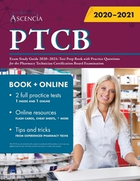 [해외]PTCB Exam Study Guide 2020-2021