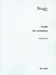 Credo for Orchestra(SE 1608)