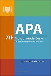 [해외]APA 7th Manual Made Easy