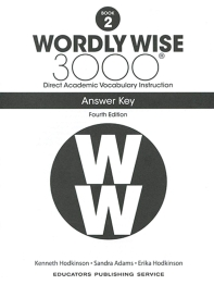 Wordly Wise 3000: Book 2 Answer Key (4/E)