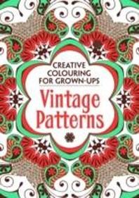 Vintage Patterns (컬러링북)