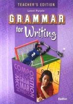 GRAMMAR FOR WRITING (PURPLE)(TEACHER S EDITION)