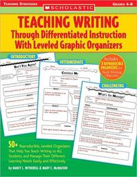 [해외]Teaching Writing Through Differentiated Instruction with Leveled Graphic Organizers