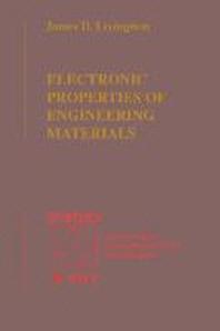 Electronic Properties of Engineering Materials