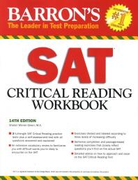 Barron's SAT : Critical Reading Workbook
