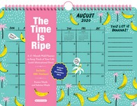 [해외]The Time Is Ripe Personal 17-Month Wall Calendar 2021