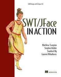 [해외]Swt/Jface in Action (Paperback)