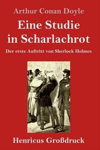 Eine Studie in Scharlachrot (Grossdruck)