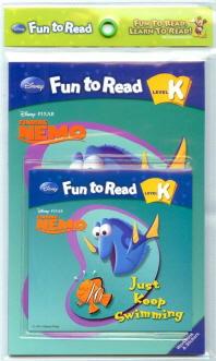 Just Keep Swimming(니모를 찾아서) 세트(CD1장포함)(Disney Fun to Read K-08)