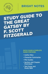 [해외]Study Guide to The Great Gatsby by F. Scott Fitzgerald