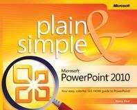 [해외]Microsoft PowerPoint 2010 Plain & Simple (Paperback)