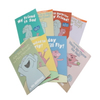 Mo Willems An Elephant & Piggie 8 books Set