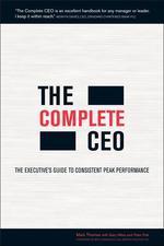 [해외]The Complete CEO (Paperback)