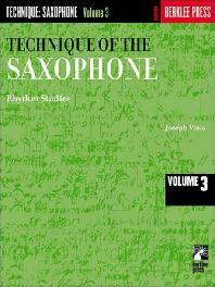 [해외]Technique of the Saxophone - Volume 3