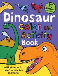[해외]Color and Activity Books Dinosaur