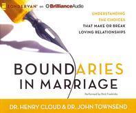 [해외]Boundaries in Marriage (Compact Disk)