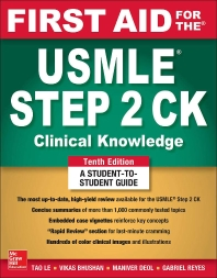 [해외]First Aid for the USMLE Step 2 Ck, Tenth Edition