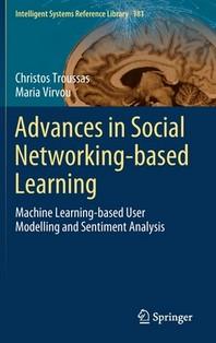 [해외]Advances in Social Networking-Based Learning (Hardcover)