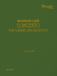 Concerto for Clarinet and Orchestra(SE 1610)