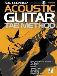 Hal Leonard Acoustic Guitar Tab Method - Book 1