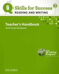 Q: SKILLS FOR SUCCESS. 3(READING AND WRITING)(TEACHER S HANDBOOK)(CD1?