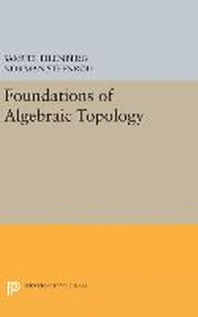 [해외]Foundations of Algebraic Topology (Hardcover)
