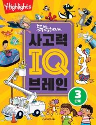 똑똑해지는 사고력 IQ 브레인 3단계(Highlights)