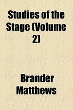 Studies of the Stage (Volume 2)